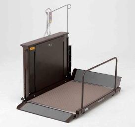 [いうら] 車椅子用電動昇降機 屋内用 UD-420