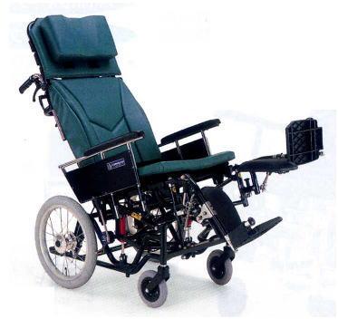 [カワムラサイクル] ティルティング・リクライニング車いす KX 介助用 KX16-42EL