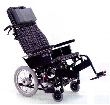 [カワムラサイクル] ティルティング・リクライニング車いす KX 介助用 KX16-42N