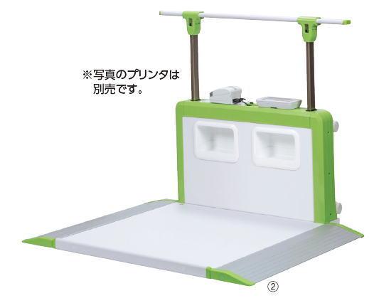 [] 車いす用バリアフリースケール(検定品 AD6108H(昇降手すり付)