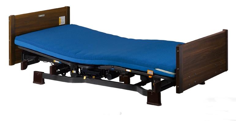 [プラッツ]ミオレット2 介護用2モーターベッド 木製フラット P106-21BE P106-22BE
