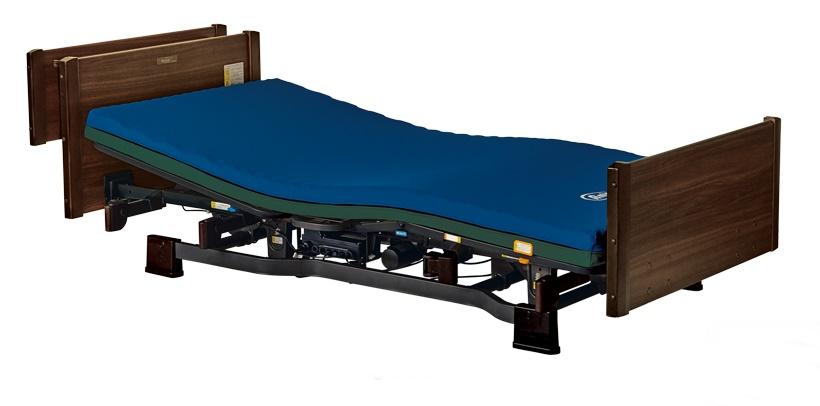 [プラッツ]ミオレット2 介護用2モーターベッド 木製宮付  P106-21BF P106-22BF
