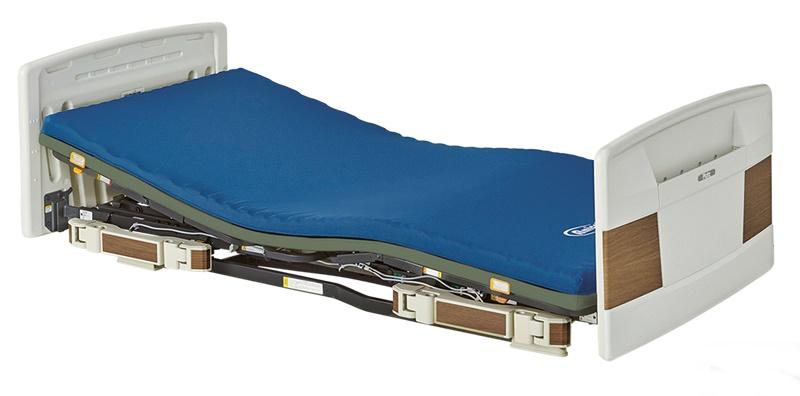[プラッツ]ラフィオ 超低床ベッド 3モーター ポジショニングベッドシリーズ 樹脂ボード P110-71ACR P110-71ACS P110-71ACL