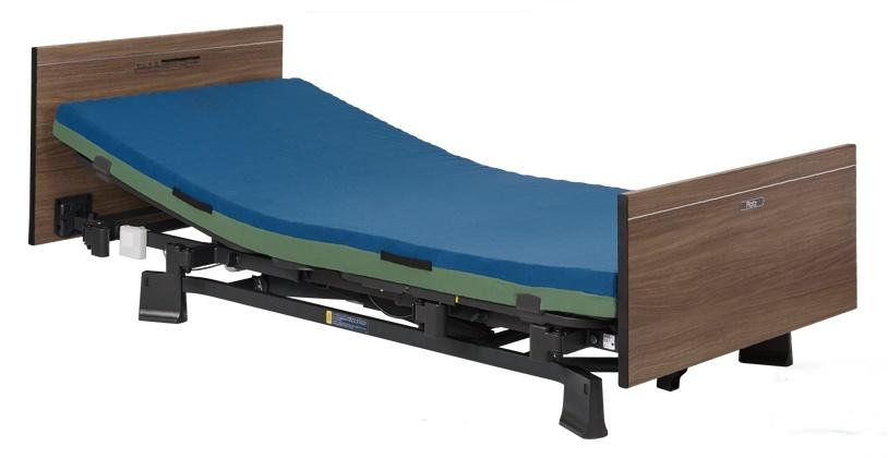[プラッツ]ミオレット3 介護用2モーターベッド 木製フラットボード P113-21BA P113-22DA