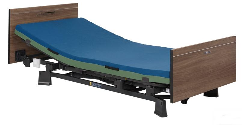 [プラッツ]ミオレット3  介護用3モーターベッド 木製フラットボード P113-31BA P113-32DA