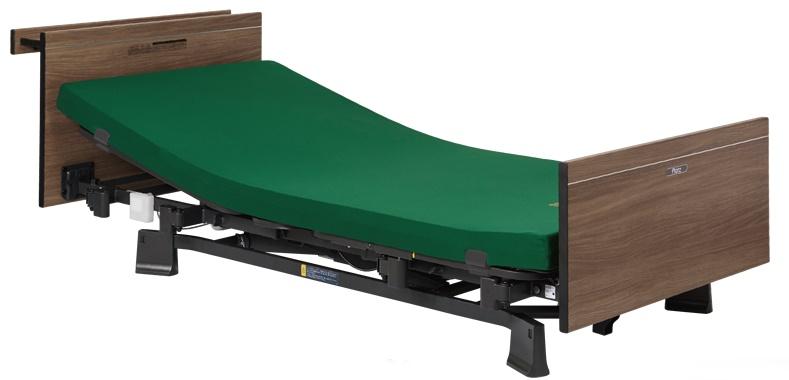 [プラッツ]ミオレット3  介護用3モーターベッド 木製宮付ボード  P113-31BB