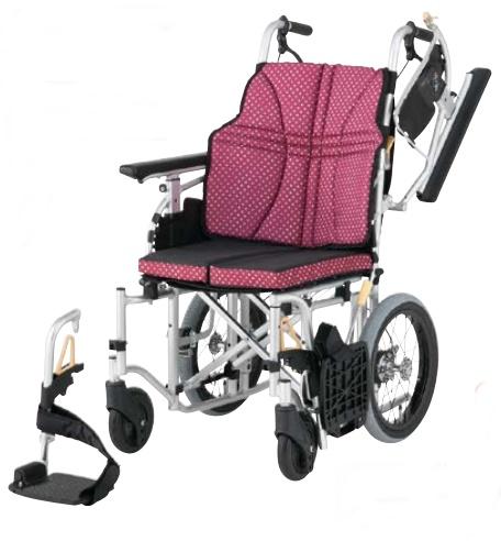 工具無しでシート幅が調節可能 法人宛送料無料 日進医療器 車椅子 介助式 モジュール ULTRA ウルトラ NAH-U7 折り畳み 肘掛跳ね上げ 脚部スイングアウト 44cm インディゴ ノーパンクタイヤ仕様 NISSIN 42 年中無休 座クッション標準装備 種類 エアタイヤ 座り心地快適 耐荷重100kg ワイン 10%OFF 座幅40