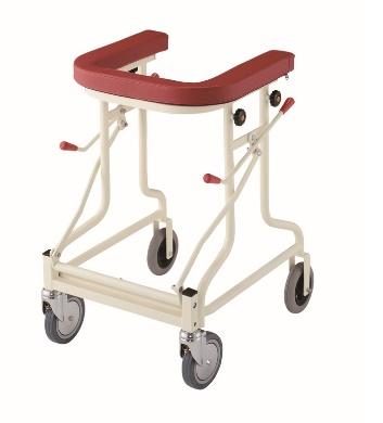 [星光医療器製作所] アルコーTL型S 100588 歩行器 歩行車 ロックレバー付き 介護用 高齢者用 大人用 室内用 歩行補助 歩行訓練 リハビリ 病院 施設