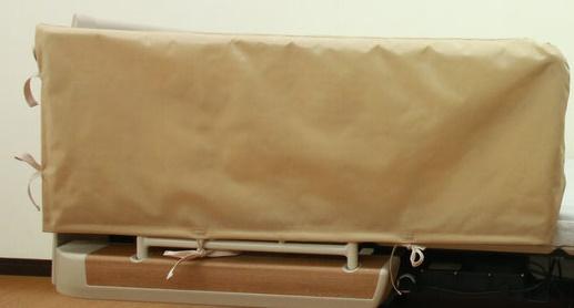 ベッドサイドレールの隙間に挟まる怪我を防止 丸田シャツ Tetote あんしんベッド柵カバー 超特価SALE開催 クッション有り MT-2005 ついに再販開始 電動 幅100cm×高さ40cm 介護 挟み込み防止 衝撃吸収 高齢者