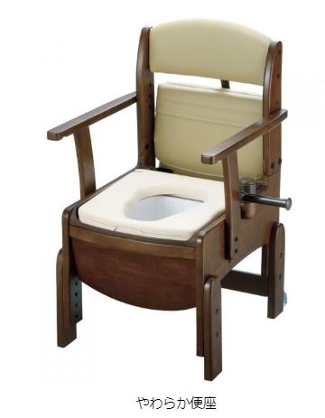 激安通販ショッピング 幅47.5cm超コンパクト 激安☆超特価 リッチェル 木製トイレ やわらか便座 18520 きらくコンパクト
