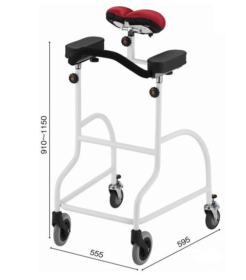 [星光医療器製作所] アルコーキープ 100627 歩行器 歩行車 抵抗器付き 介護用 高齢者用 大人用 室内用 歩行補助 歩行訓練 リハビリ 施設 病院 自宅
