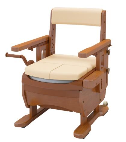 [アロン化成]安寿 家具調トイレセレクトR はねあげ 533-869 ソフト・快適脱臭