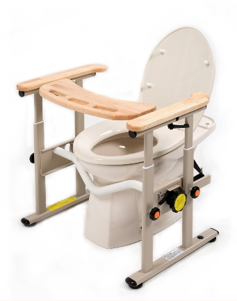 【法人宛送料無料】[タマツ]トイレの姿勢保持手すり まえてあ MT-100
