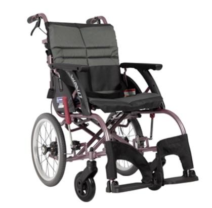 [カワムラサイクル] WAR16-40(42/45)-M(H/SH) 座幅40/42/45cm 折りたたみ ウェイビットルー ファブリック 標準型 種類 Roo WAVIT 介助式 乗り心地 KAWAMURA 耐荷重100kg 車椅子 【法人宛送料無料】 ノーパンクタイヤ仕様