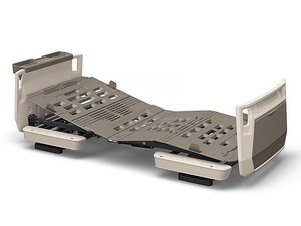 スマートフォンによる家庭内呼び出し機能を搭載 パラマウントベッド 楽匠プラス Hタイプ 棚付き 2モーション 91幅 レギュラー ミニ スマートハンドル付属 奉呈 KQ-A5307S KQ-A5317S PARAMOUNT BED 膝あげ 介護 背あげ 電動 高さ調節 ベッド KQ-A5337S 背膝連動 KQ-A5327S 全店販売中 リクライニング