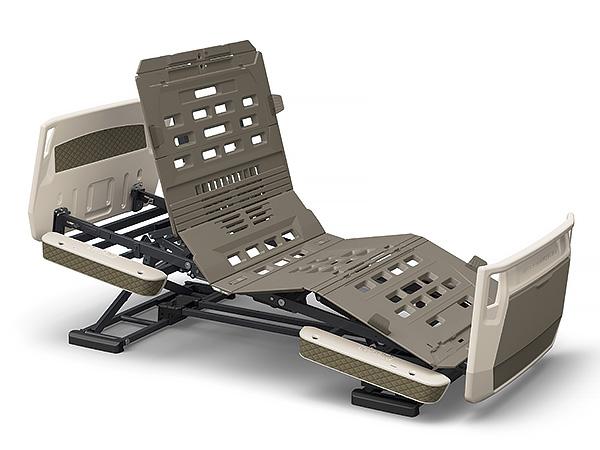 スマートフォンによる家庭内呼び出し機能を搭載 パラマウントベッド 楽匠プラス Hタイプ 3モーション 91幅 レギュラー ミニ スマートハンドル付属 モスグリーン キャメル グレージュ KQ-A6311S 膝あげ らくらく リクライニング 介護 新作販売 セールSALE%OFF 電動 BED ラクリア PARAMOUNT ベッド KQ-A6333S KQ-A6322S 高さ調節 背あげ