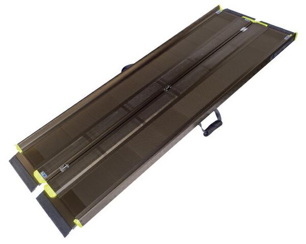 幅65cmのコンパクト設計 アイシン軽金属 軽々スロープ SL145 安値 希少 長さ145cm エコノミー