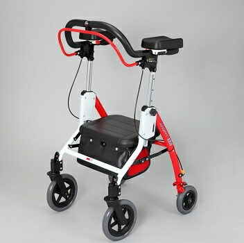 倉 身体をあずけてラクラク歩行 ユーバ産業 アームフィットEXR 即納最大半額 EXR-698E 室内外兼用歩行車