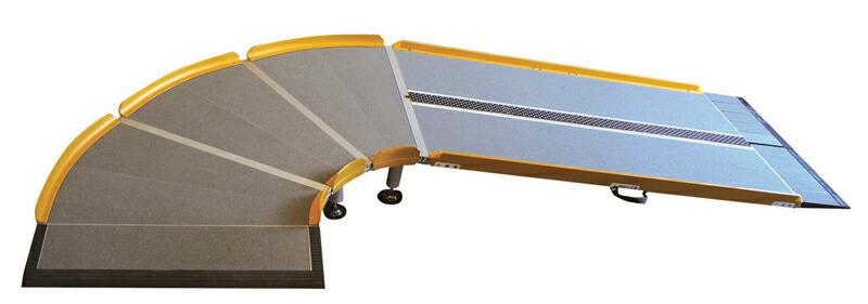 超特価SALE開催 設置角度を選べるスロープ シコク LスロープFK 1500 643-215 新品 送料無料 微笑の杜若 長さ150cm