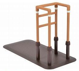 [モルテン] 床置き型手すり ルーツ コーナータイプ MNTPCRBR