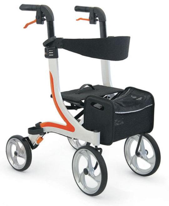 【法人宛送料無料】[カワムラサイクル] 屋内外両用歩行車 KW40 (抑速ブレーキ内蔵ホイール無し)