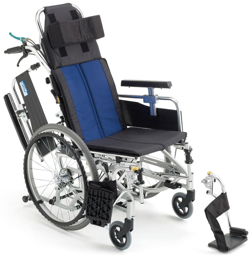 [ミキ] ティルト・リクライニング車いす(自走型) BAL-11
