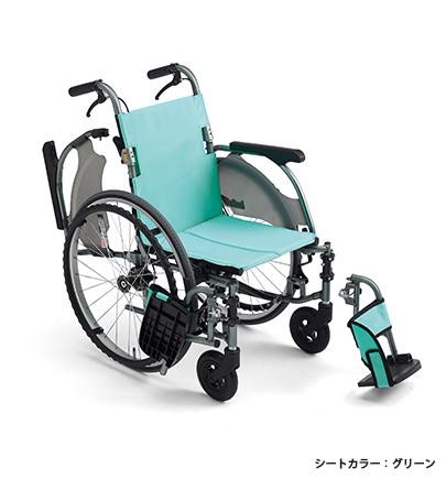 [ミキ] カルッタ(Carutta) CRT-3Lo(軽量エアタイヤ、低座面仕様)自走型