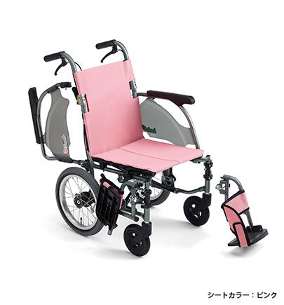 介助式で9.3kg 全幅49cm 足が地面につきやすい 低座面仕様の車椅子 小柄な方はもちろん 足こぎしたい方にもおすすめです 法人宛送料無料 ミキ 車椅子 軽量 コンパクト 低床タイプ CRT-4Lo カルッタ Carutta エアタイヤ仕様 肘掛け跳ね上げ 足こぎ 紺 脚部スイングアウト お求めやすく価格改定 低座面 折り畳み可能 ピンク グリーン 種類 介助式 MiKi スリム 売買 耐荷重100kg