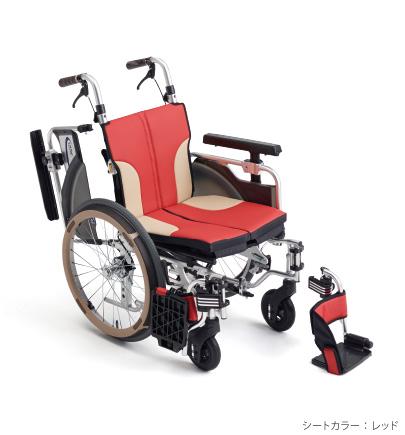 [ミキ] 自走型コンパクト車いす スキット1000Lo SKT-1000Lo (モジュール・低座面タイプ)