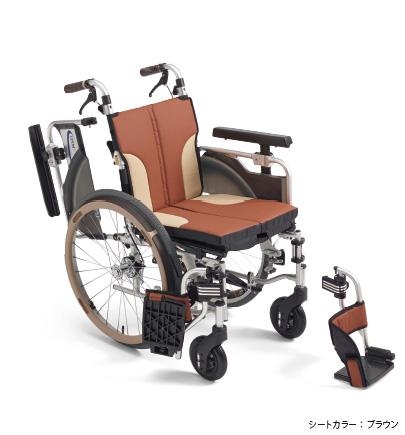 [ミキ] 自走型コンパクト車いす スキット1000 SKT-1000 (モジュールタイプ)