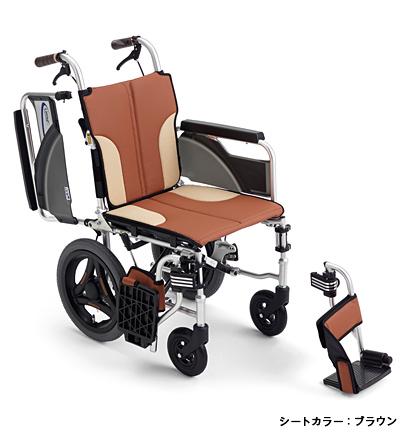 [ミキ] 介助型コンパクト車いす スキット200 SKT-200