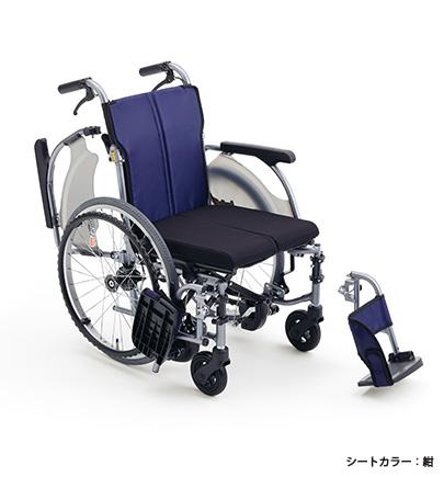 [ミキ] カルッタ(Carutta) CRT-3 Lo B 自走型(ノンバックブレーキシステム搭載 低座面 エアタイヤ仕様)