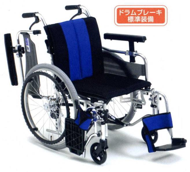 [ミキ] アルミ自走用車いすMYU4-OP<μ-4>(低床型)