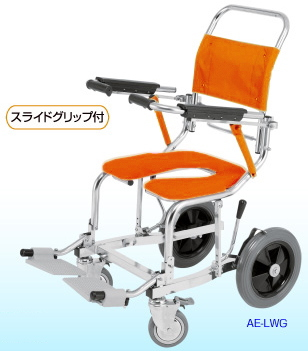 [睦三] シャワーキャリー AE-LPG (前輪樹脂ダブルロック) No.5832