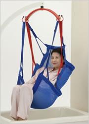 [モリトー] スリングシート(入浴用) パオメッシュブルー フルサイズ(70×140cm) PAO150