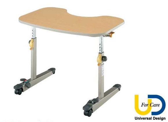 【個人宛送料無料】[パラマウントベッド] リハビリテーブル KF-850 車椅子テーブル キャスター付 天板角度調節 高さ調節 介護 PARAMOUNT BED