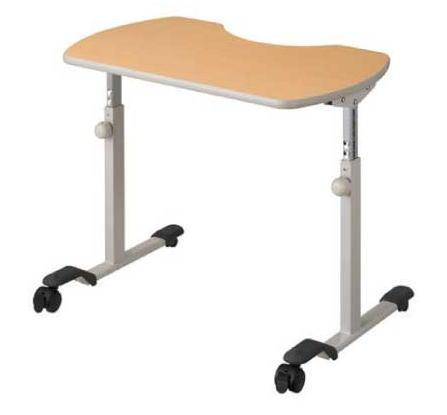 ベッドサイドで 高価値 また車いすと組み合わせて使うことができます パラマウントベッド リハビリテーブル KF-840 車椅子テーブル PARAMOUNT 介護 高さ調節 お歳暮 キャスター付 BED