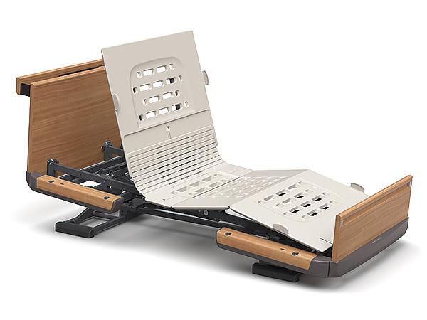 [パラマウントベッド] 楽匠Z 棚付きタイプ 2モーション スマートハンドル付属 91幅レギュラー 91幅ミニ KQ-7234 KQ-7224
