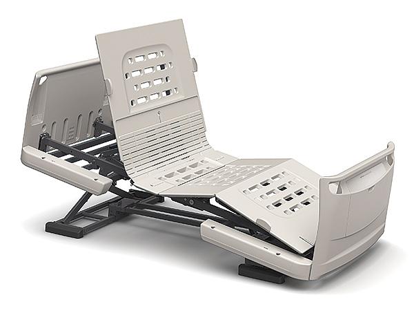 [パラマウントベッド] 電動ベッド 楽匠Z KQ-7330S(スマートハンドル付属 3モーションタイプ レギュラーサイズ・91cm幅対応 セーフティーラウンドボード)