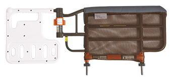 [プラッツ] 安全カバー付自動ロック式ベッド用グリップ ニーパロS PZR-AT116JSN