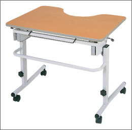 [日進医療器] ライフケアテーブル 傾斜調節付 TY506T