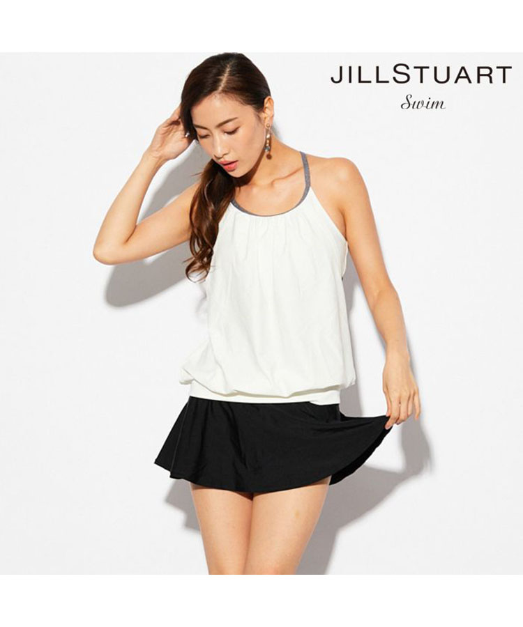 【JILLSTUART】スカート付きタンキニ3点セット 3点セット水着 7号/9号/11号 水着 みずぎ ミズギ 3点セット水着 レディース水着