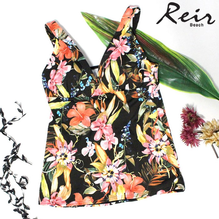 【Reir】Summer Flower タンキニ 9号/11号 水着 みずぎ ミズギ タンキニ レディース水着