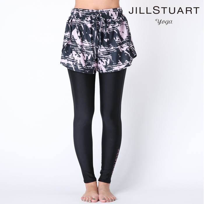 【JILL STUART yoga】【YOGA】ヨガパンツ&ショートパンツ セット S/M/L 水着 みずぎ ミズギ セット レディース水着