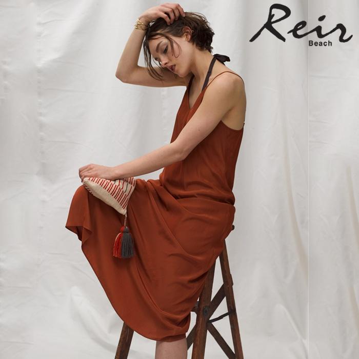 【Reir】Dyed Dechine マキシ ワンピース M 水着 みずぎ ミズギ ワンピース レディース水着