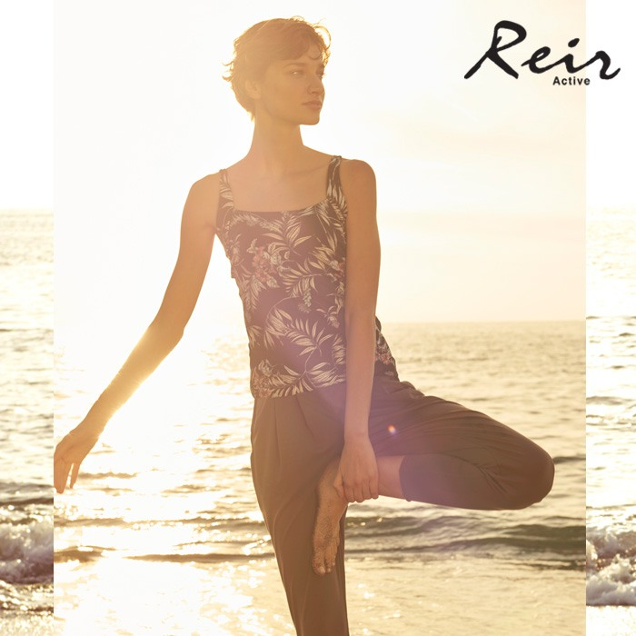 【Reir】無地ルーズフィット パンツ M/L