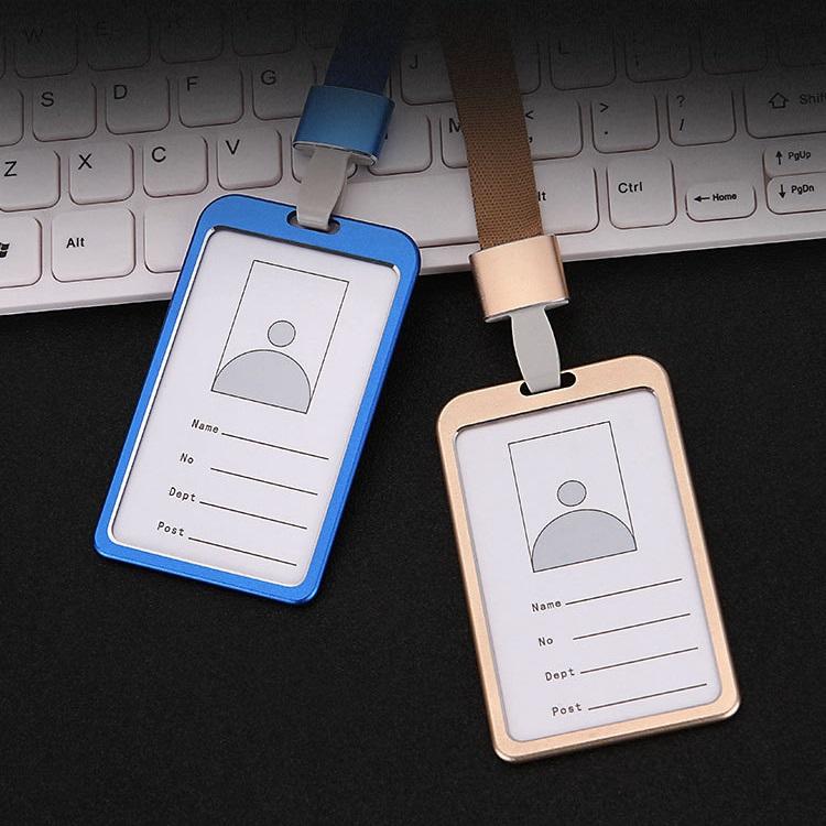 パスケース 期間限定で特別価格 アルミニウム合金 IDケース 社員証 IDカードホルダー 半額セール 送料無料 耐衝撃 社員証ケース 縦型 入館証 レディース ネックストラップ 取り外し可能 賜物 薄型 メンズ 学生 icカード