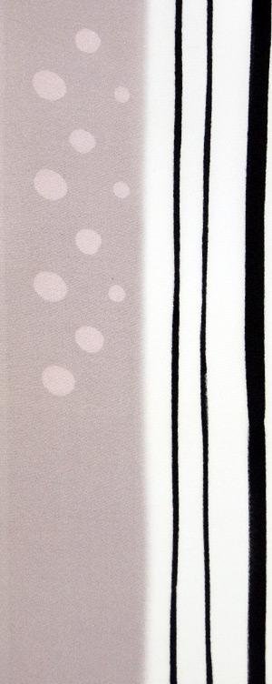 2Way水玉 縞 送料無料カード決済可能 ろうけつ染め友禅半衿 正絹 毎日がバーゲンセール 半襟 紫 袷用
