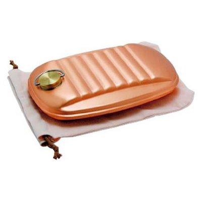 新光金属 純銅製 湯たんぽ 袋付 大 容量2.3L S-9395L