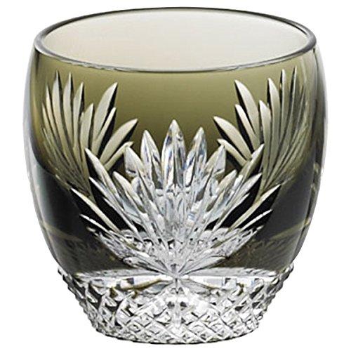 カガミクリスタル 江戸切子冷酒杯 月下美人 冷酒グラス 80ccT535-2763